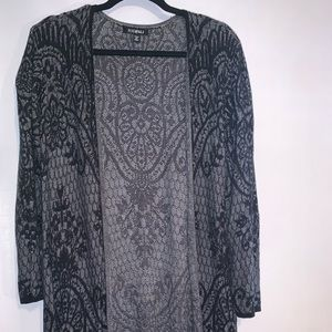 Sweater black and gray